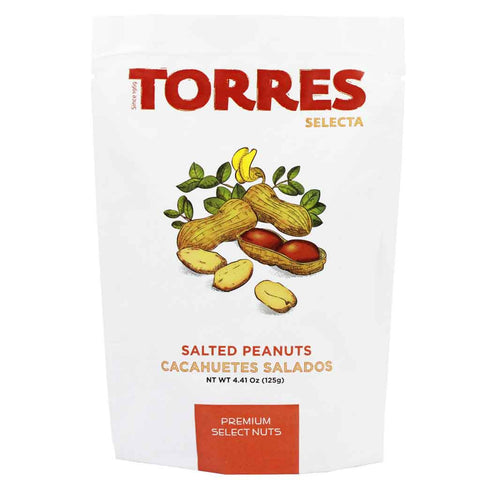 Spanish Salted Peanuts (No Shell) by Torres 4.4 oz