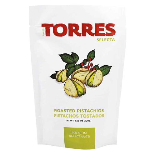 Spanish Roasted Pistachios by Torres 3.5 oz