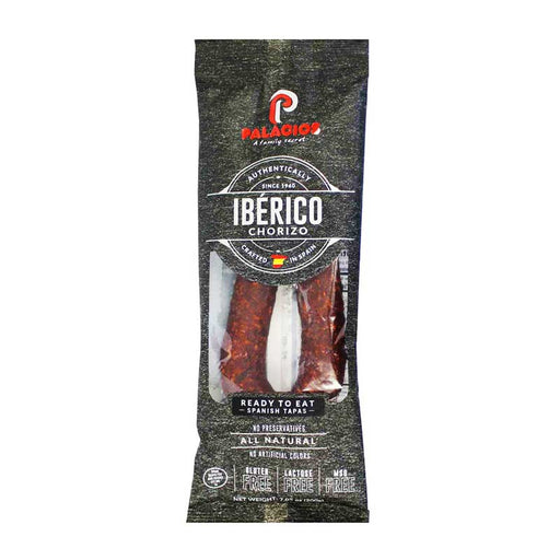 Palacios Iberico Chorizo Ready-to-eat, 7.9 oz