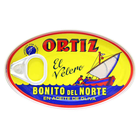 Ortiz Bonito del Norte White Tuna in Olive Oil 2.8 oz. (82 g)