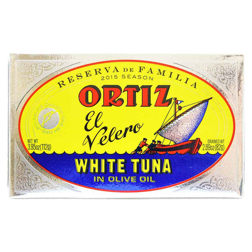 Ortiz Reserva de Familia White Tuna in Olive Oil 3.9 oz.
