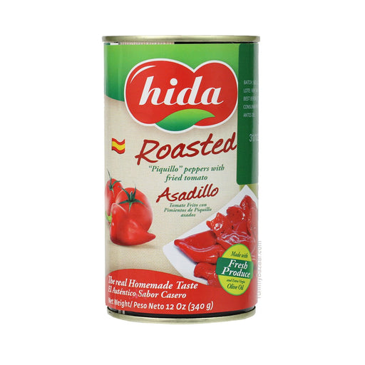 Hida Asadillo Roasted Piquillo Peppers with Fried Tomato 12 oz. (340 g)