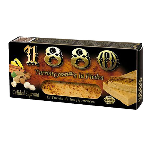 1880 Almond & Cinnamon Soft Turron Bar 7 oz. (200g)