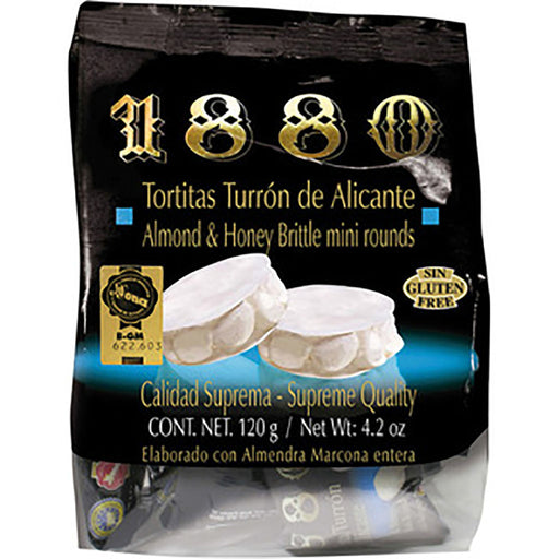 1880 Tortitas Turron Alicante 4.2 oz. (120g)
