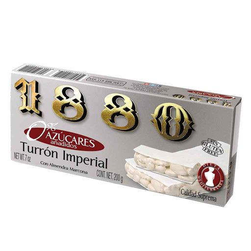 1880 Almond Turron No Sugar Added 7 oz. (200g)
