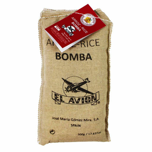 Bomba Paella Rice by El Avion from Spain, 17.6 oz. (500g)