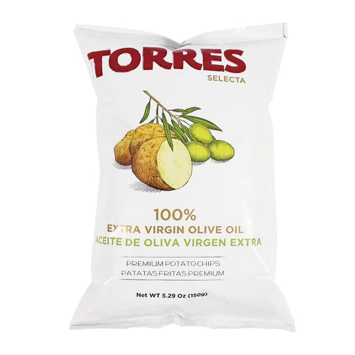 Torres Extra Virgin Olive Oil Potato Chips, 5.2 oz.