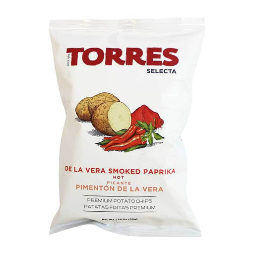 Torres Smoked Paprika Potato Chips, 1.76 oz (50 g)