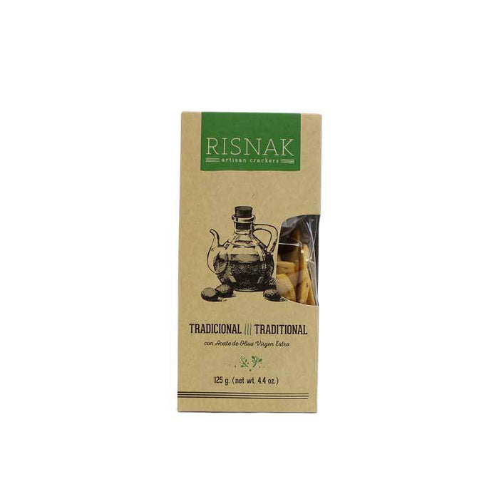 Risnak Olive Oil Crackers, 4.4 oz (125 g)