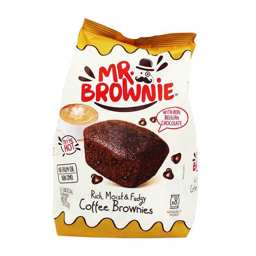 Mr. Brownie Coffee Brownie Bites, 7 oz (200 g)