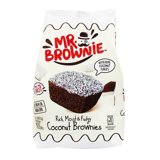 Mr. Brownie Coconut Brownie Bites, 7 oz (200 g)