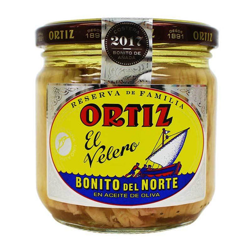 Ortiz Family Reserve Tuna in Olive Oil, 9.5 oz (270g)