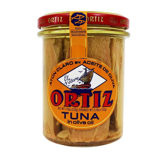 Ortiz Yellowfin Tuna in Olive Oil, Certified Kosher, 9.2 oz (260g)