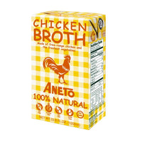 Aneto Chicken Broth, 33.8 fl oz (1L)
