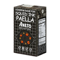 Aneto Squid Ink Cooking Base, 33.8 fl oz (1L)