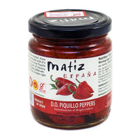 Matiz Roasted Piquillo Peppers from Lodosa, 7.6 oz (215 g)