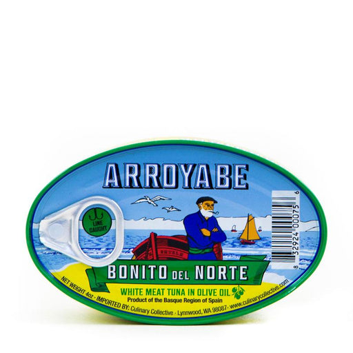 Arroyabe White Tuna in Olive Oil, 4 oz (111 g)
