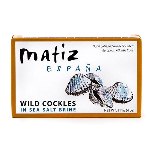 Matiz Berebechos Wild Cockles Baby Clams in Brine, 4 oz (111 g)