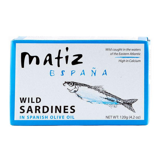 Matiz Wild Sardines in Spanish Olive Oil, 4.2 oz (120 g)
