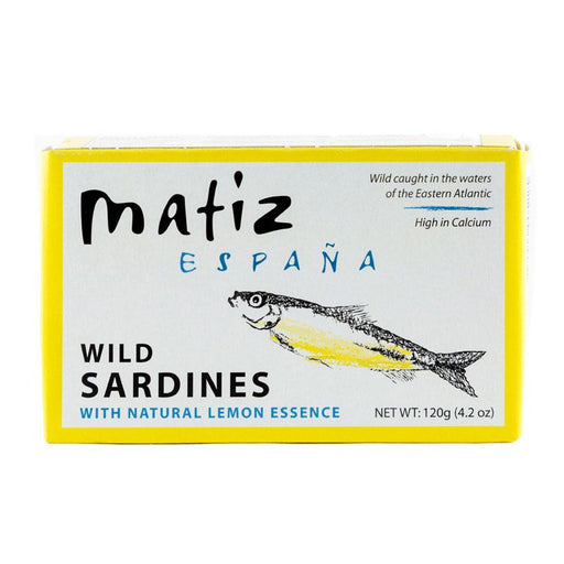 Matiz Wild Sardines with Lemon, 4.2 oz (120 g)