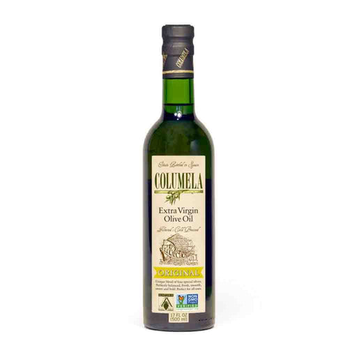 Columela Extra Virgin Olive Oil, Original, Filtered, 16.9 fl oz (500 mL)