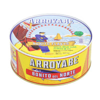 Arroyabe Bonito White Tuna Flakes in Sunflower Oil, 2 lb (907 g)