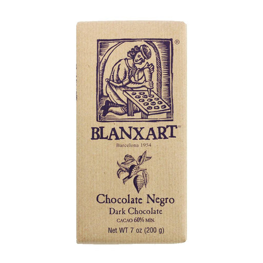 Blanxart Dark Chocolate, 7 oz (200 g)