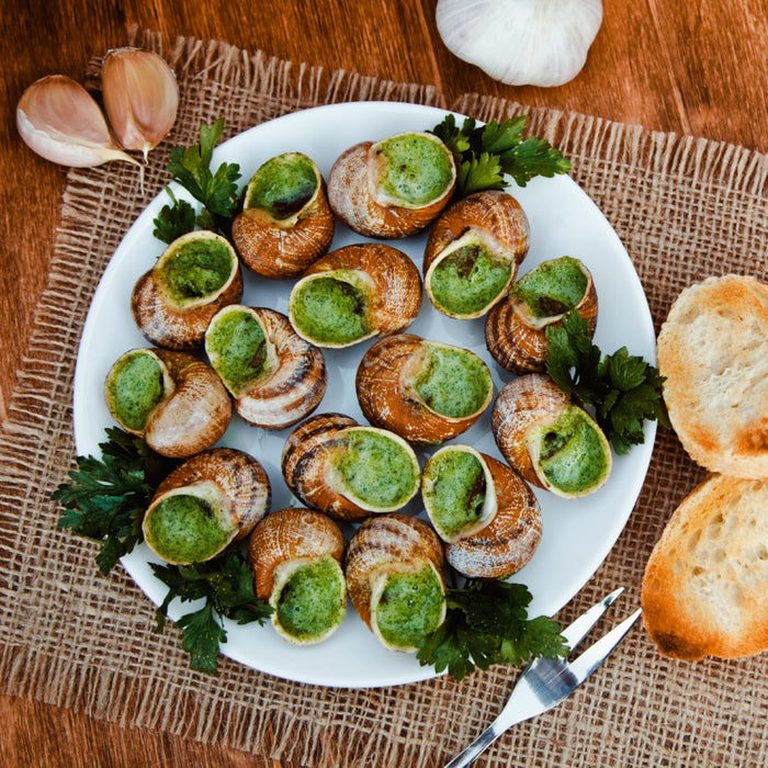 French Escargot (Serves 4)