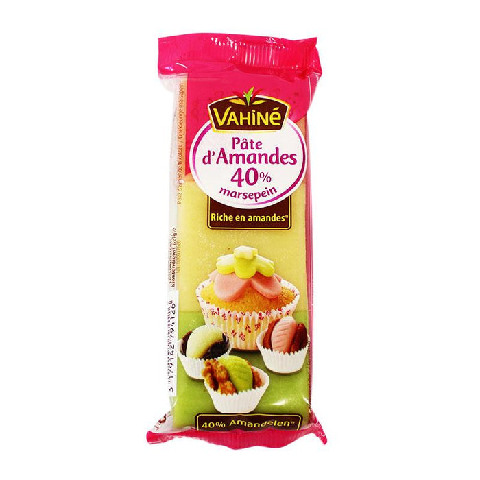 Vahine Tricolor Marzipan Almond Paste, 5.2 oz (150 g)