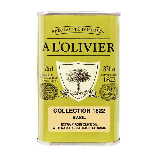 A LÕOlivier Basil Infused Olive Oil, 8.3 fl oz (250 ml)