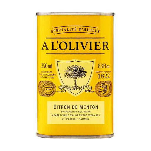 A LÕOlivier Lemon Infused Olive Oil from Nice, 8.3 fl oz (250 ml)