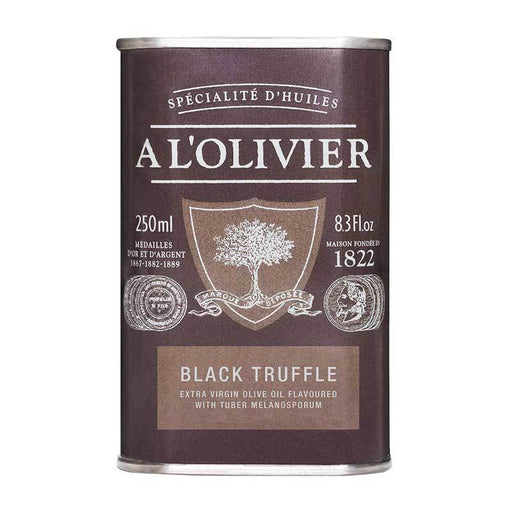 A LÕOlivier Black Truffle Infused Olive Oil, 8.3 fl oz (250 ml)