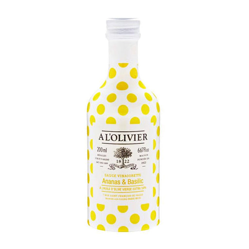 A L'Olivier Pineapple Basil Oil, 6.7 fl oz (200mL)