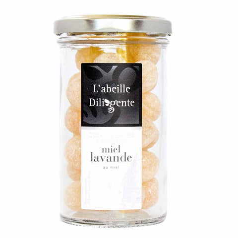 French Candies Filled with Lavender Honey by L'Abeille Diligente 6.35 oz