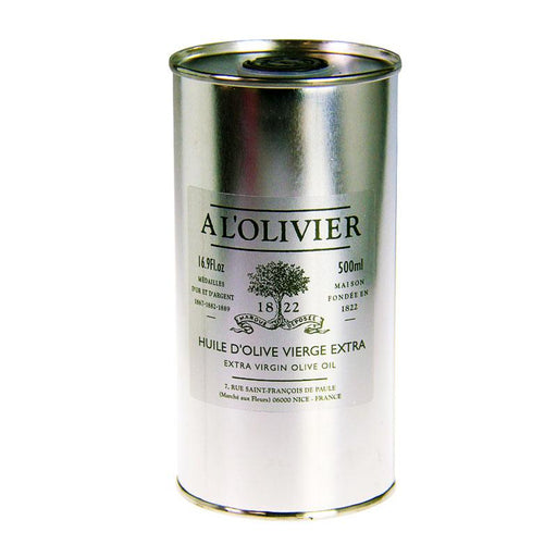 A L'Olivier Refill Extra Virgin Olive Oil, Paris's Top Specialty Oil & Vinegar Brand, 16.9 fl oz (500mL)