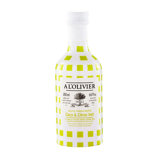A L'Olivier Coconut & Lime Vinaigrette, 6.7 fl oz (200mL)