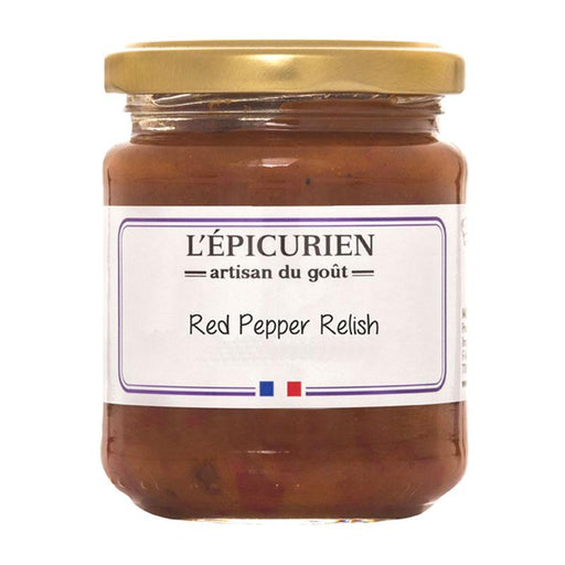 Epicurien Red Pepper Relish, 7.4 oz (210 g)