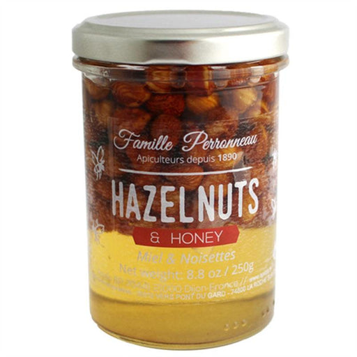 Apidis Acacia Honey with Hazelnuts, 8.8 oz (250 g)