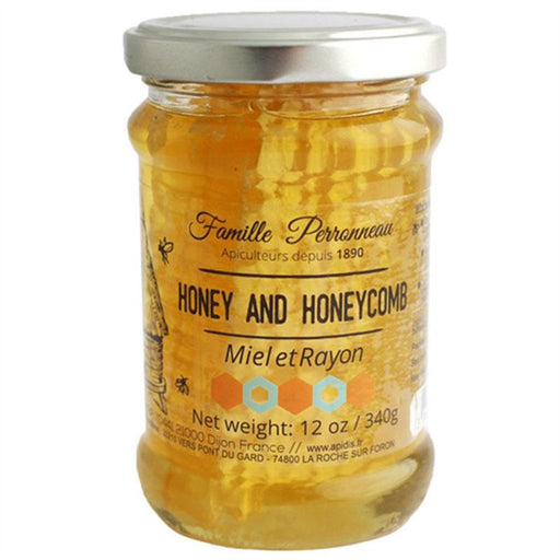 Apidis Acacia Honey with Honeycomb, 12 oz (340 g)