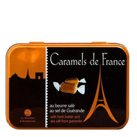 Chocolate Caramels in Eiffel Tower Tin, 5.29 oz (150 g)