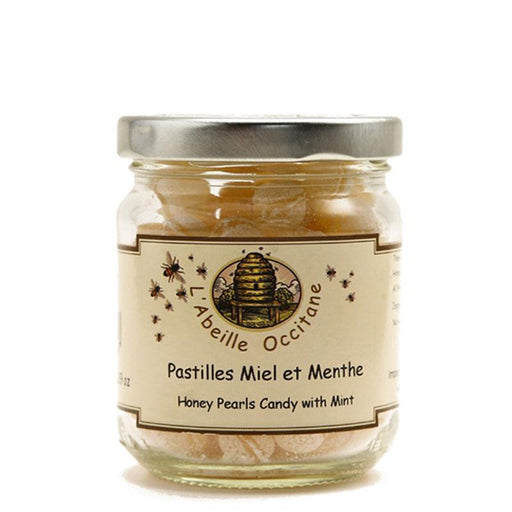 Mint Honey Pearls by L'Abeille Occitane, 5.3 oz (150 g)