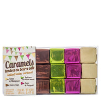 French Assorted Butter Caramels by  Maison d'Armorine, 5.47 oz (155 g)