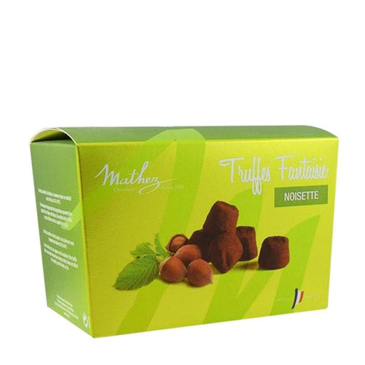 Mathez Chocolate Truffle with Hazelnut Pieces, 8.8 oz (250 g)