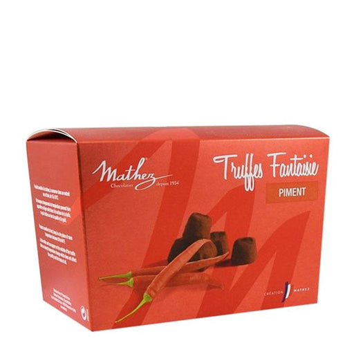 Mathez Chocolate Truffle with Chili, 8.8 oz (250 g)