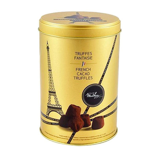 Mathez Plain Truffes Fantasie in Gold Tin, 17.6 oz (500 g)