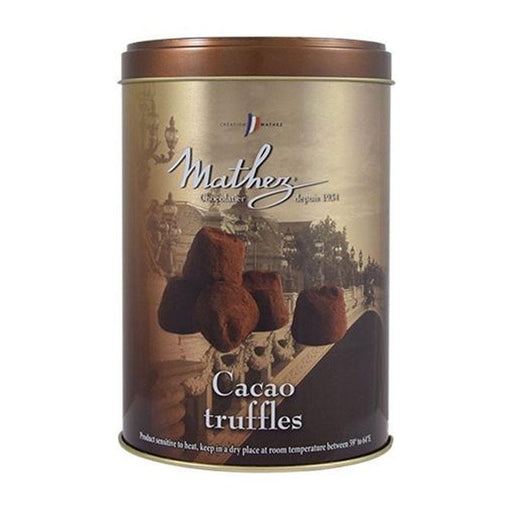 Mathez Plain Truffles Gold Tin, 17.6 oz (500 g)