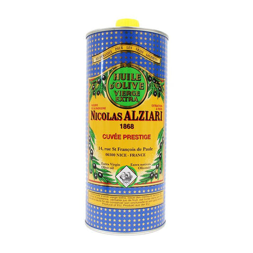Nicolas Alziari Cold Extracted Extra Virgin Olive Oil , 33.8 fl oz (1 L)