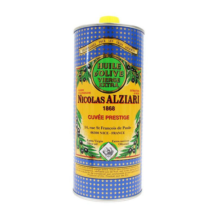 Nicolas Alziari Extra Virgin Olive Oil, Cold Extracted 33.8 fl oz. (1 L)