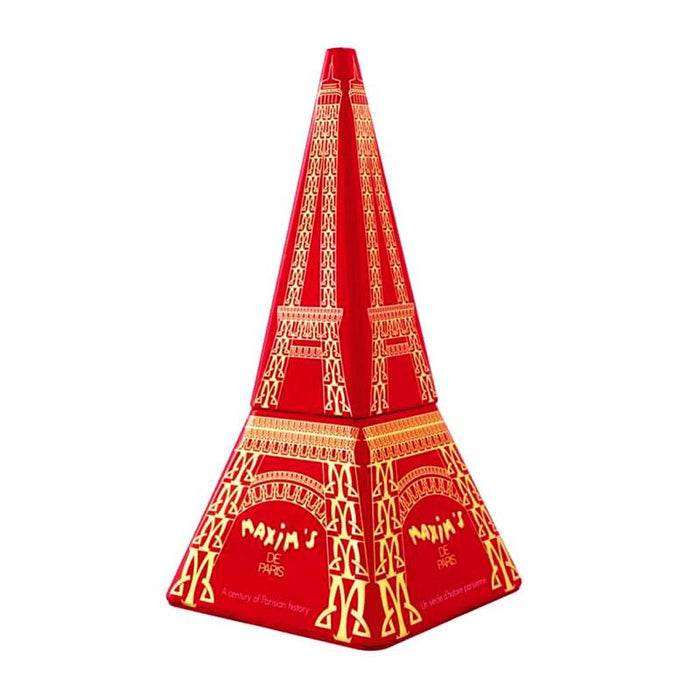 Maxim's Red Eiffel Tower Milk Chocolate Crepe Dentelle