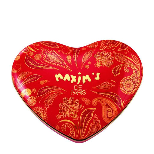 Maxim's Large Red Heart Assorted Chocolates Tin